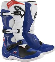 ALPINESTARS TECH 3 BOOTS BLUE/WHITE/RED SIZE 12 482-04812