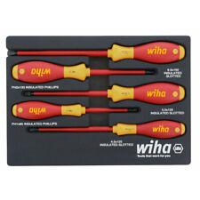 Wiha 5 Pc 1000 Volt Insulated Screwdriver Set 32081