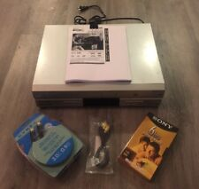 PANASONIC DVD & VCR COMBO PLAYER 4-HEAD HI-FI STEREO VHS PV-4733S + BUNDLE PACK