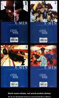 Civil War: X-Men 1 2 3 4 Marvel 2006 Complete Set Run Lot 1-4 VF/NM