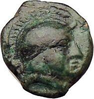 Mesembria in Thrace 350BC Rare Ancient Greek Coin Athena Minerva   i29654