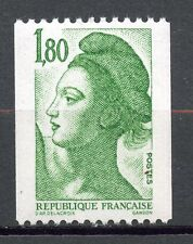 STAMP / TIMBRE FRANCE NEUF N° 2378 ** GANDON LIBERTE ROULETTE
