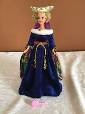 Mattel Barbie doll Medieval Lady of the court dress marked 1978 w rooted lashes