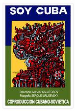 "Cuban movie Poster 4 film""SOY Cuba""Kalatosov art film.Interior design room Decor"
