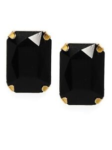 Zaveri Pearls Contemporary Style Black Stud Earring For Women Free shipping