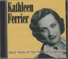 "Kathleen Ferrier ""Great Voices Of 20th Century"" NEW & SEALED CD 1st Class Post"