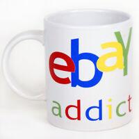 """Tazza """"ebay Addict"""" - Confessa la tua dipendenza per le aste on line"""