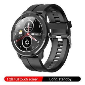 T6 Full Touch Screen Smart Watch Men Women IP68 Waterproof Blood pressure oxygen