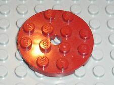 LEGO DkRed round plate 60474 / set 20215 7964 75216 5883