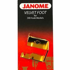 Janome Velvet Foot #767407010 for DB Hook Models