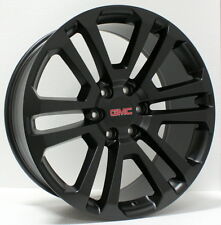 New 22 inch GMC Black Split Spoke Wheels Rims GMC Sierra Yukon Denali  Avalanche