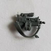 40K Marine Head Swap Conversion bits Sternguard Head with Bionic Eye