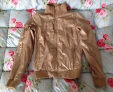 Puma Ladies Gold Sports Jacket Size XS