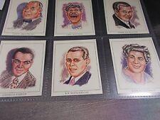 6 x JAZZ GREATS Collectors Trade Cards CARDLYNX - Louis Armstrong, Ella Fitzgera