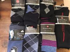 ** 21 X MENS ANKLE SOCKS VARIOUS DESIGNS & COLOURS 6-11 NEW ** ARGYLE A