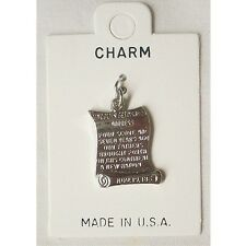 ABRAHAM LINCOLN GETTYSBURG ADDRESS COLLECTABLE CHARM NEW