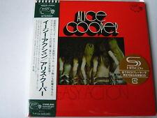 "Alice Cooper ""Easy Action"" Japan mini LP SHM CD"