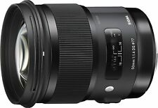 Sigma 50mm F/1.4 DG HSM Art Lens for Nikon (New)
