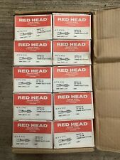 """Red Head 47190 Powder Actuated Drive Pins 3/8"""" x 1-1/4"""" New 1000 count case"""
