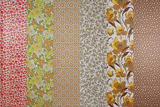 70er Jahre Tapete - Blumige Muster II - Große Auswahl