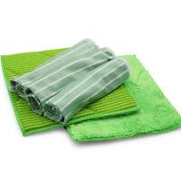 awiwa Bambus Reinigungstücher Putztücher Putzlappen Geschirrtücher Tuch 5er Set