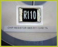 SMD sono denominati resistor strommesswiderstand 0,11 Ohm 0r11 0,125w 1% 0805 5000 pezzi