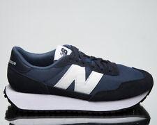 New Balance 237 Men'S темно-белые, низкие, спортивные повседневные повседневные кроссовки, обувь