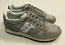 Saucony Shadow Original Vintage Trainers, Grey / White