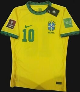 NEYMAR 10# BRAZIL JERSEY 2021 NEW WITH ALL PATCHES TAGS