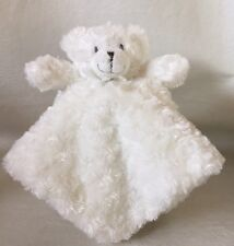 Blankets and Beyond White Bear Security Blanket lovey