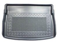 Antislip Boot Liner Trunk Tray for VW Golf Sportsvan 2014- upper and lower boot