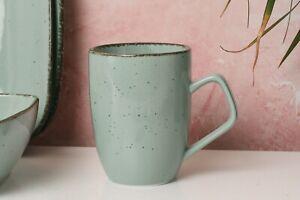 D&F Natural Blue Mug Set of 4
