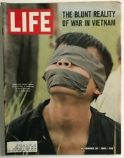 Vintage November 26, 1965 LIFE Magazine - REALITY OF WAR IN VIETNAM