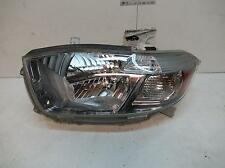 TOYOTA KLUGER LEFT HEADLAMP GSU40-GSU45, BLACK INNER, 08/07-09/10 07 08 09 10