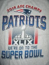 2014 NEW ENGLAND PATRIOTS AFC Champs We're on to the SUPER BOWL XLIX (LG) Shirt