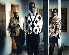 Boyz II Men Nathan Wanya Shawn Room R&B Soul new jack swing auto 8x10 Photo COA