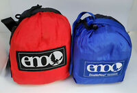 2 for 1 Eagles Nest Outfitters ENO DoubleNest Nylon Hammock: ROYAL RED Charocal