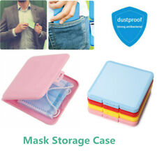 Case Plastic Travel Organizer Storage Box Face Cover Container Storage Case