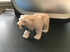 LEGO WHITE POLAR BEAR FROM SET 60062 FRIENDS MINIFIGURE ANIMAL BRAND NEW