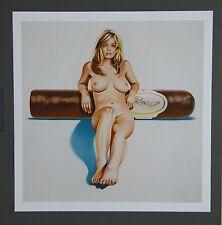 Mel Ramos - Hav-a-Havana #4 2000 Kunstdruck Art Print 48x48cm Pop Art Cigar Nude