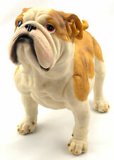 Bulldog Statue Figurine Ornament Dog Puppy Garden Sculpture BIG 23 cm