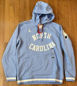 Nike Jordan UNC North Carolina Tar Heels Basketball Retro Fleece Hoodie Large