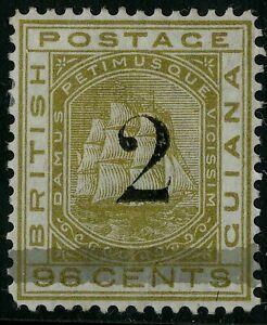 British Guiana  1881  Scott #  95  Mint Hinged