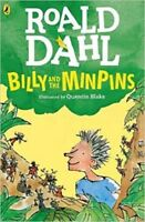 Billy and the Minpins (illustrated by Quentin Blake) By Roald Dahl NEW Paperback