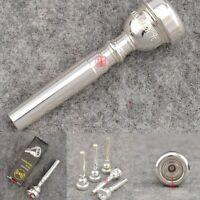 Professional Vincent Bach Silver Mouthpiece 351 Series Bb Trumpet 3C 5C 7C 1.5C