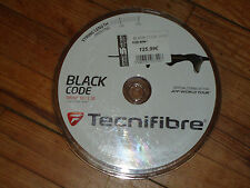 Cordage de tennis 12 mètres Tecnifibre Black Code jauge 1.18 mm