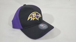 LZ NFL Apparel Youth Big Kids OS Baltimore Ravens Strap Back Baseball Cap Hat NW