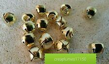 lot de 20 grelots clochettes Or doré   breloques scrapbooking 10mm