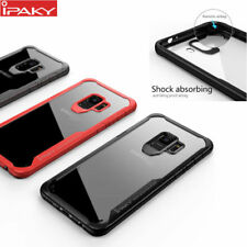 Ipaky Brand Armor Bumper + Clear Robot Cover case For Samsung Galaxy S9  B/N
