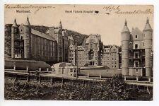 CANADA carte postale ancienne MONTREAL Royal victoria hospital